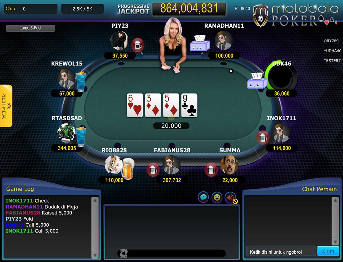 Daftar Judi Online Poker Terpercaya