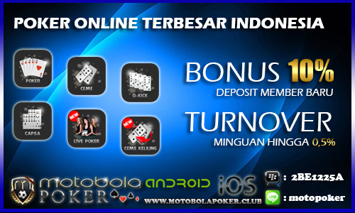 Agen Live Poker Online Terbaik Di Indonesia
